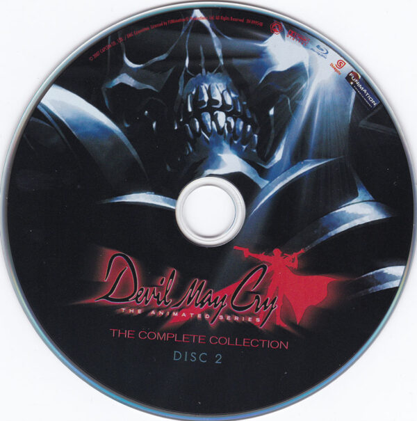 Devil May Cry The Complete Series Disc 2