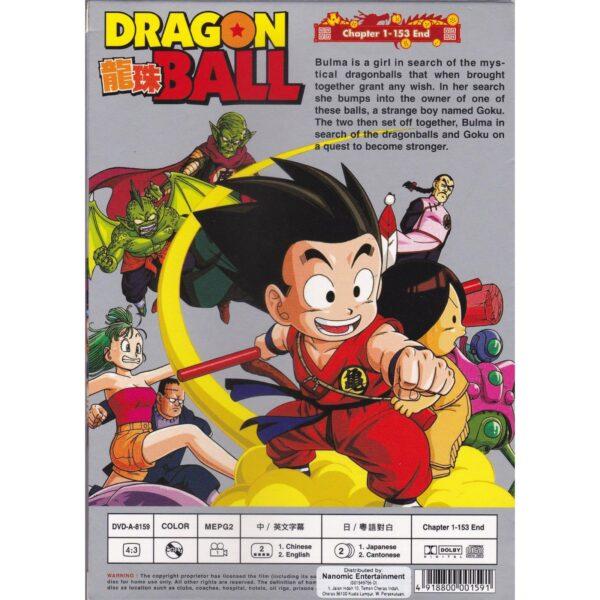 Dragon Ball Hong Kong (7 Viên Ngọc Rồng bản HK) Cover