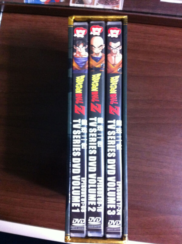 Dragon Ball Z Hong Kong (7 Viên Ngọc Rồng Z bản HK) Cover 3