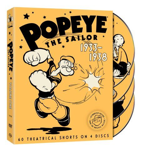 Popeye the Sailor 1933-1938 The Complete First Volume Cover