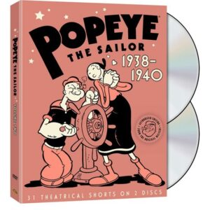 Popeye the Sailor 1938 1940 The Complete Second Volume Cover