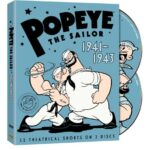 Popeye the Sailor 1941-1943 The Complete Third Volume Cover