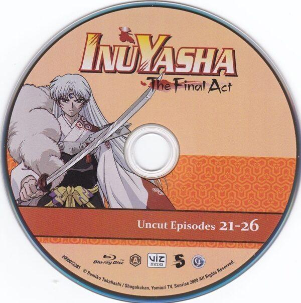 InuYasha The Final Act Disc 4