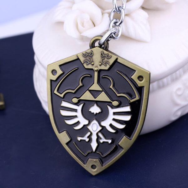 MK00001 – Móc khóa khiên Hylian Shield series game The Legend of Zelda (11)