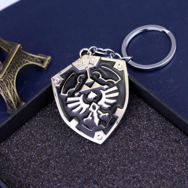 MK00001 – Móc khóa khiên Hylian Shield series game The Legend of Zelda (14)
