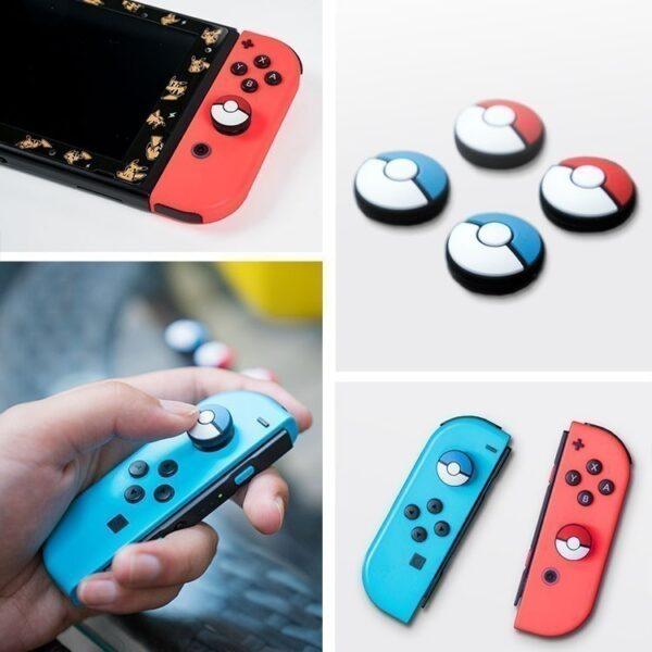 Núm bọc Pokeball cho analog của Joy-Con – Nintendo Switch (1)