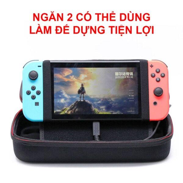 Túi cứng chống sốc siêu cao kiêm đế dựng cho Nintendo Switch (6)