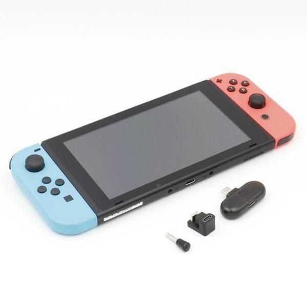 GuliKit ROUTE+ PRO USB C Bluetooth Audio Transmitter Kết nối âm thanh không dây cho Nintendo Switch & PC (1)