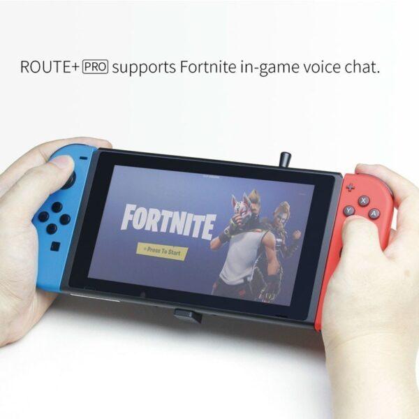 GuliKit ROUTE+ PRO USB C Bluetooth Audio Transmitter Kết nối âm thanh không dây cho Nintendo Switch & PC (4)