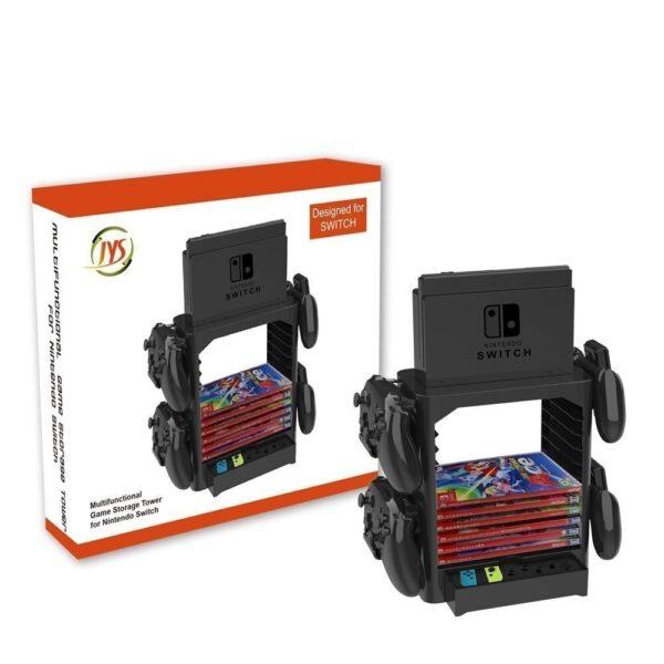 Kệ đa năng chứa băng game, Pro Controller, dock, joy-con và máy Nintendo Switch (6)