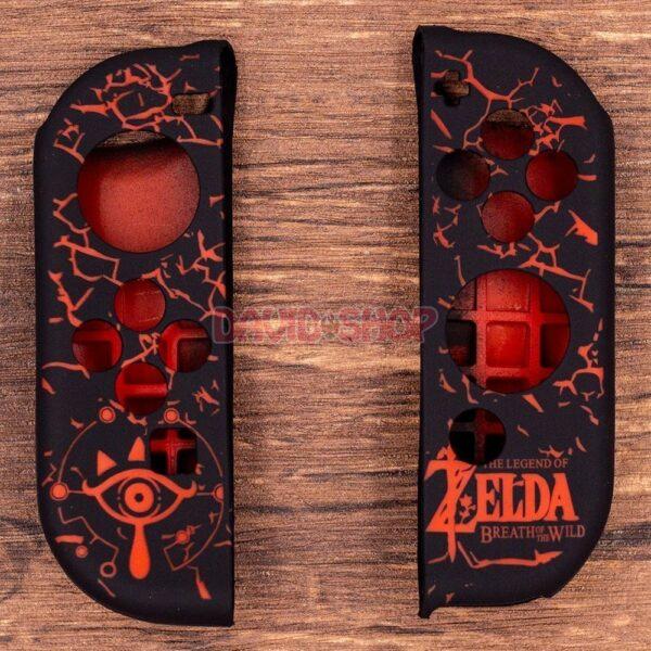 Case TPU dẻo cán lồi hoa văn Zelda, Super Mario, Splatoon 2 cho Joy-Con – Nintendo Switch (10)