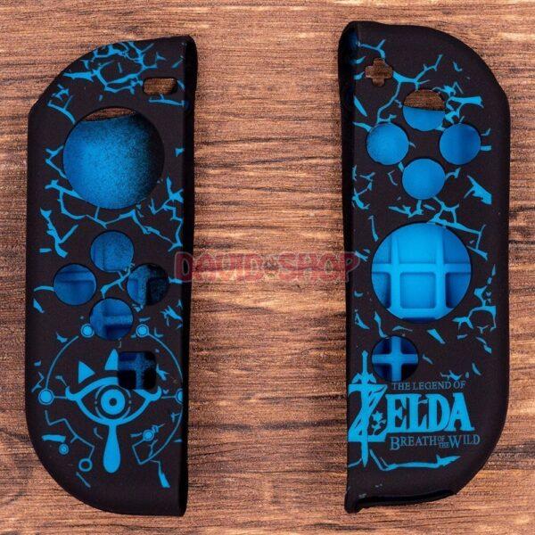Case TPU dẻo cán lồi hoa văn Zelda, Super Mario, Splatoon 2 cho Joy-Con – Nintendo Switch (12)