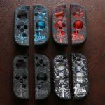Case TPU dẻo cán lồi hoa văn Zelda, Super Mario, Splatoon 2 cho Joy-Con – Nintendo Switch (3)