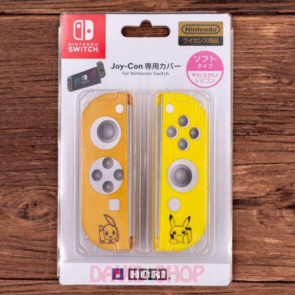 Case TPU dẻo cán lồi Pikachu Eevee cho Joy-Con – Nintendo Switch (1)