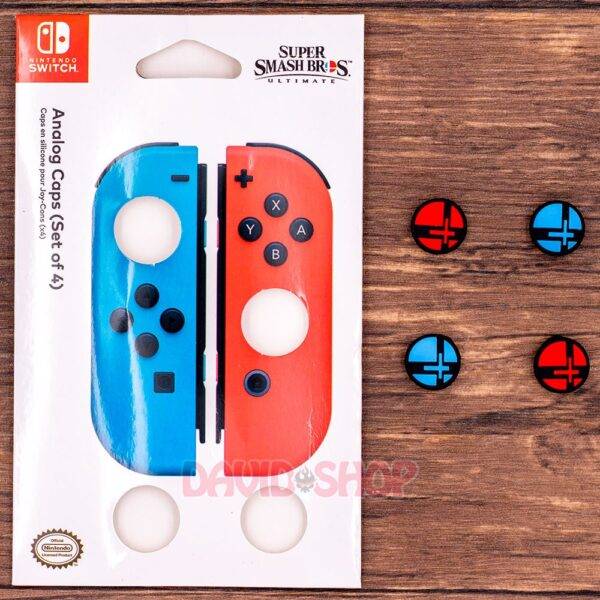 Núm bọc Super Smash Bros. cho Analog của Joy-Con – Nintendo Switch (3)