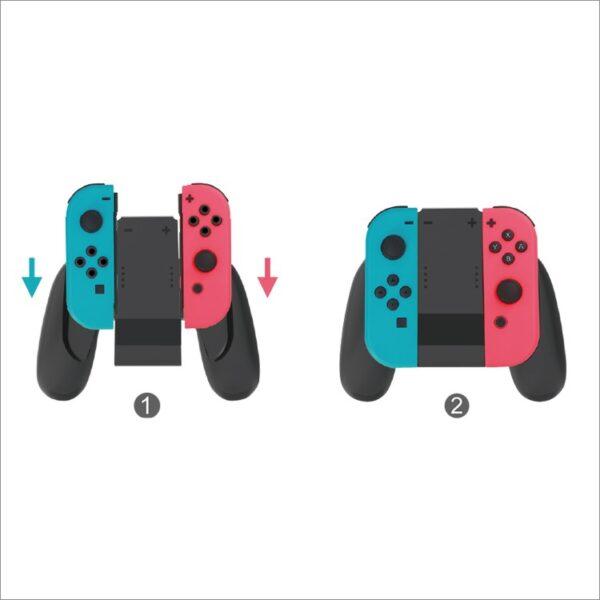 Grip kiêm sạc dự phòng Joy-Con hãng Dobe cho Nintendo Switch (TNS-873) (5)