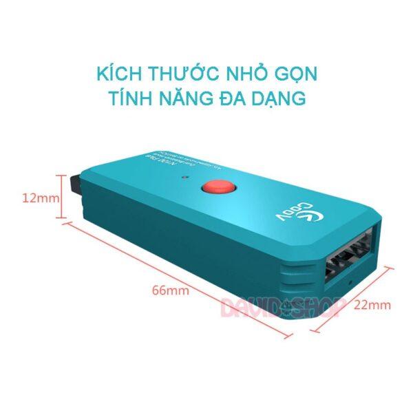 USB Adapter Coov N100 Plus kết nối tất cả tay cầm cho Nintendo Switch, Xbox One, PS4, PC (1)
