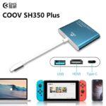 Coov SH350 Plus xuất hình ảnh 4K60FPS cho Nintendo Switch, SamSung, MacBook, Huawei (Sao chép) (2)