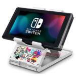 Đế dựng Nintendo Switch, điện thoại (hoa văn Splatoon 2) (6)