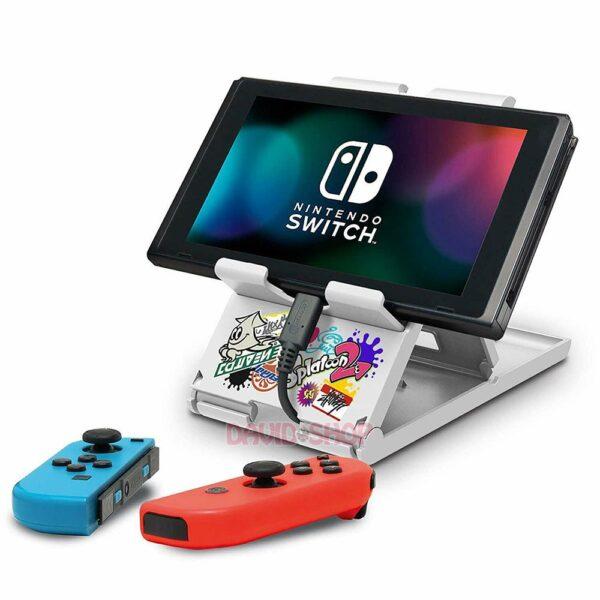 Đế dựng Nintendo Switch, điện thoại (hoa văn Splatoon 2) (7)