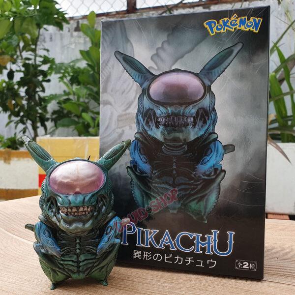 Figure Pikachu Xenomorph (Alien) – Màu lam (1)