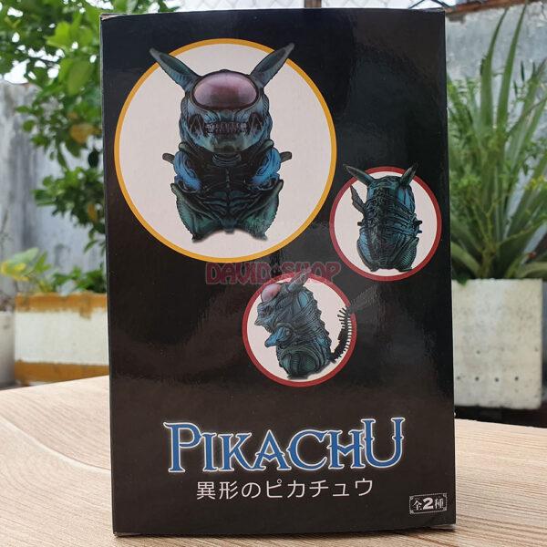 Figure Pikachu Xenomorph (Alien) – Màu lam (13)