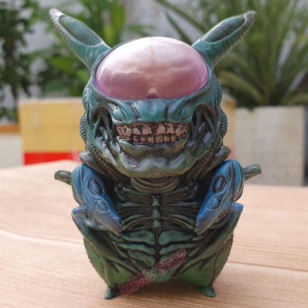 Figure Pikachu Xenomorph (Alien) – Màu lam (2)