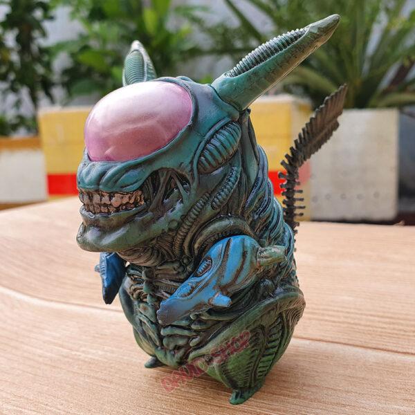 Figure Pikachu Xenomorph (Alien) – Màu lam (3)