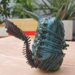 Figure Pikachu Xenomorph (Alien) – Màu lam (7)