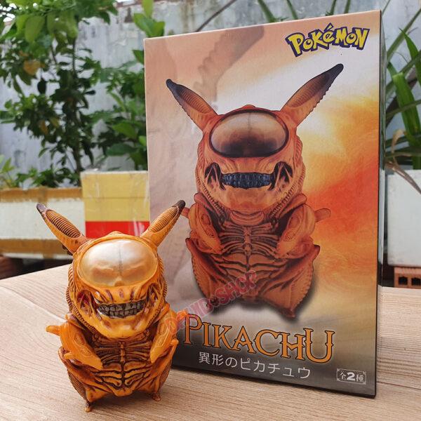Figure Pikachu Xenomorph (Alien) – Màu vàng (1)