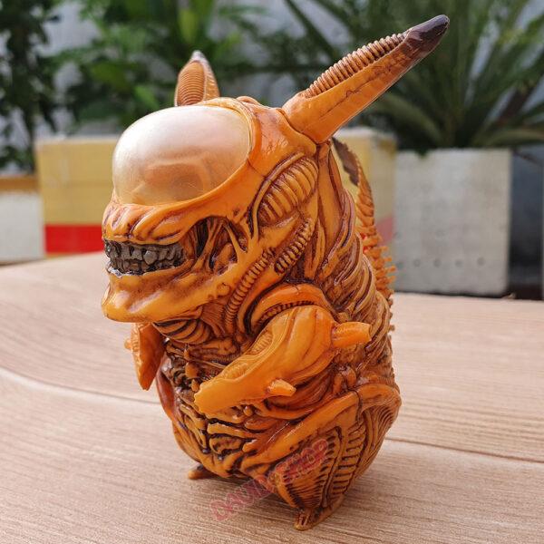 Figure Pikachu Xenomorph (Alien) – Màu vàng (3)