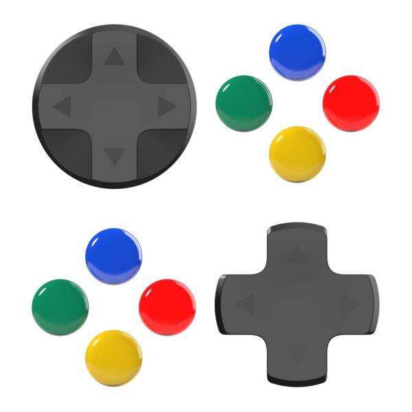 Skull & Co. D-Pad Button Cap Set cho tay cầm Joy-Con – Nintendo Switch (1)