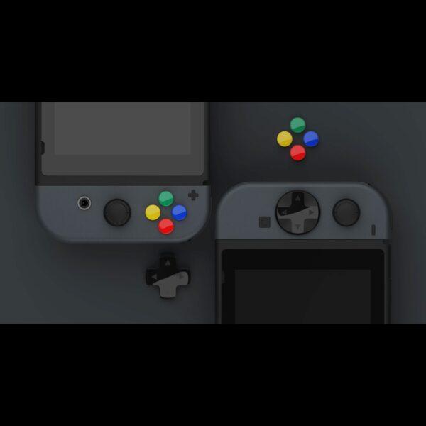 Skull & Co. D-Pad Button Cap Set cho tay cầm Joy-Con – Nintendo Switch (2)