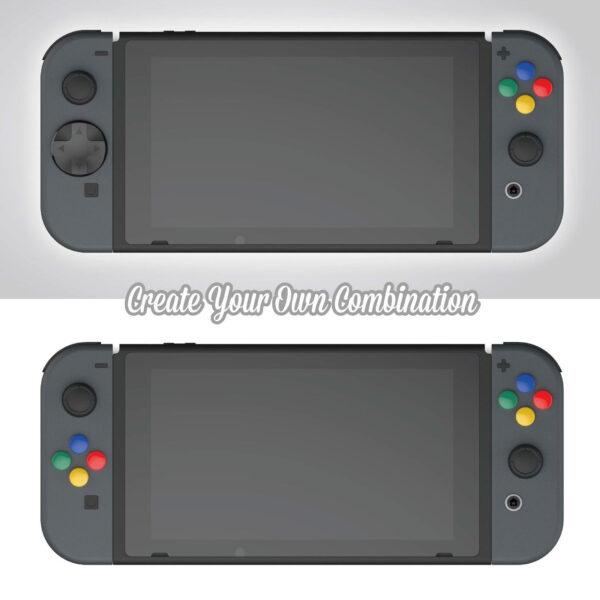 Skull & Co. D-Pad Button Cap Set cho tay cầm Joy-Con – Nintendo Switch (4)