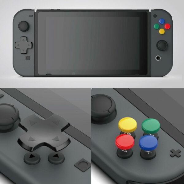 Skull & Co. D-Pad Button Cap Set cho tay cầm Joy-Con – Nintendo Switch (6)