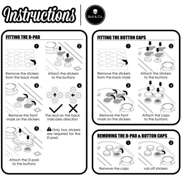 Skull & Co. D-Pad Button Cap Set cho tay cầm Joy-Con – Nintendo Switch (7)